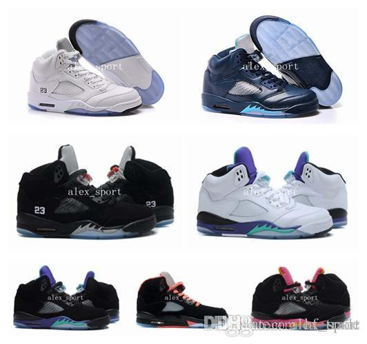 best sneakers 7c34b 5bd71 With Box Top Quality Retro 5 Basketball Shoes Black Metallic OG Cheap Big  Retro 5 V Men Women Sneakers Size Eur 36 46 Shoes On Sale Cheap Sneakers ...