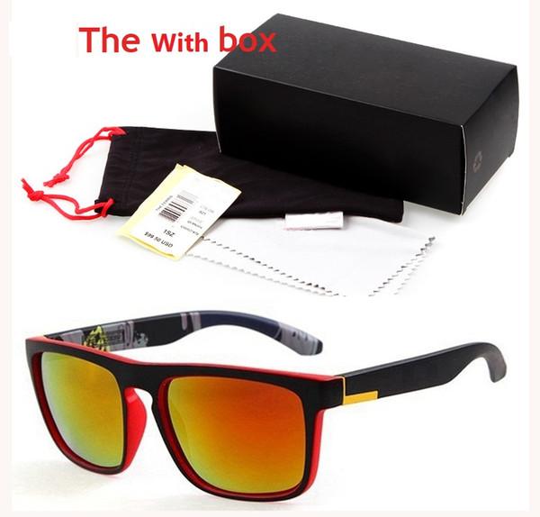 Quick Fashion Солнцезащитные очки Ferris Мужские спортивные очки на открытом воздухе Классические солнцезащитные очки с коробкой cuculos de sol gafas lentes