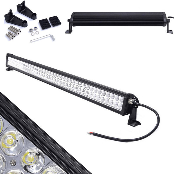 "42"" 240W Spot Flood Led Work Light bar Combo Off-road Driving Lamp Led Working Light for Car Jeep Truck Boat ATV UTV Tractor Trailer Marine"