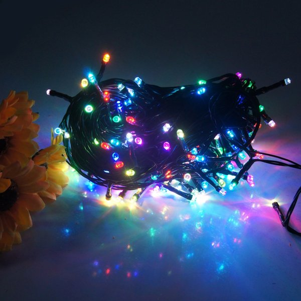 Rgb Led Christmas Lights.High Quality 8 Modes 72ft 200 Led Battery Operated Rgb Led String Light Led Waterproof String Light For Christmas Garden Wedding Party Decor Patio