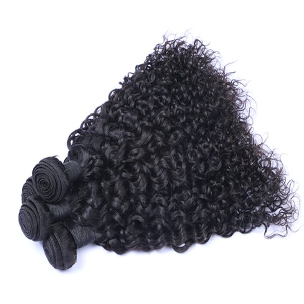 Mongolian Malaysian Brazilian Indian Peruvian Jerry Curly Hair Extension Unprocessed Human Virgin Hair Weave Wholesale Best Quality