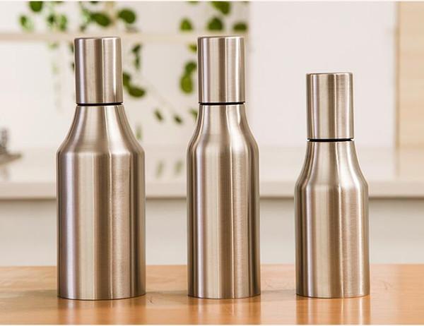 Stainless Steel Leak Proof Oiler Multi Function Dustproof High Quality Family Kitchen Essential Oil Bottle Hot Sale 16 5sh J R