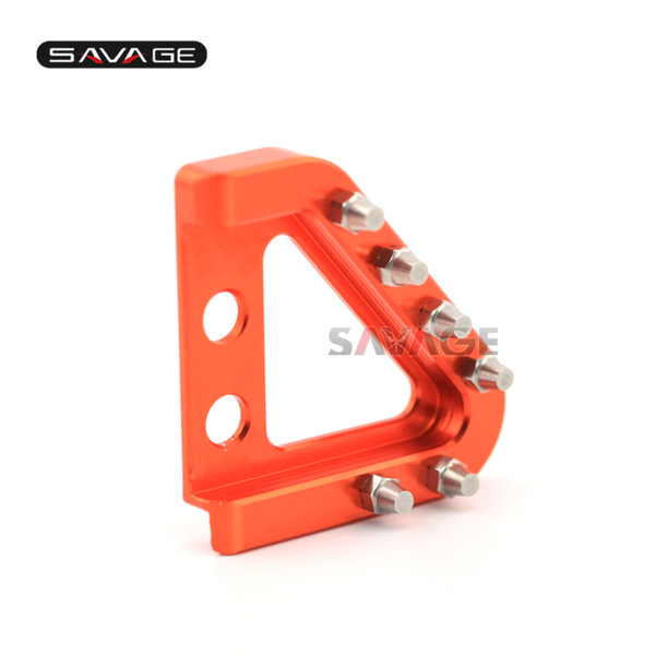 For KTM 690 SMC-R 12-15/SMC 08-10/Supermoto 07-09/Enduro R 09-16/DUKE R 10-12/DUKE 08-16 Rear Brake Pedal Step Tip Cleats