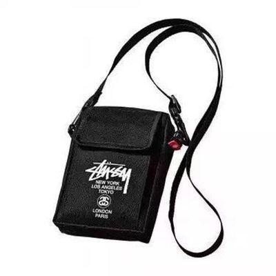 Tide brand black Messenger bag shoulder bag backpack men and women fashion bags