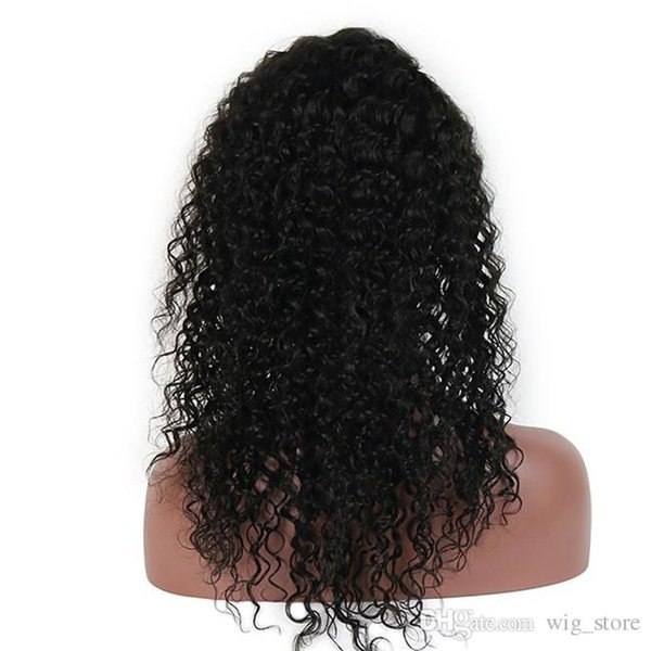 Kinky Curly Lace Front Wigs Brazilian Full Lace Human Hair Wigs Unprocessed Kinky Curly Wig For Black Women