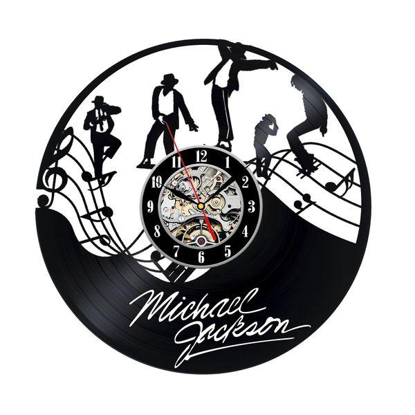 Vinyl Record Clock Gift for Michael Jackson Fans