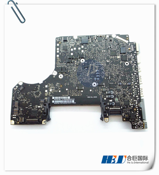 "Original Motherboard core i7 2.9GHz for MacBook Pro 13"" A1278 Logic Board Mid 2012 year 820-3115-B MOQ:5pcs"