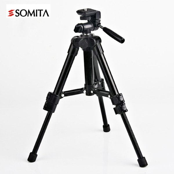 2017 New Brand Aluminum Portable Professional DSLR Tripods with Head Outdoor Hot Sale Camera Tripod Wt3159