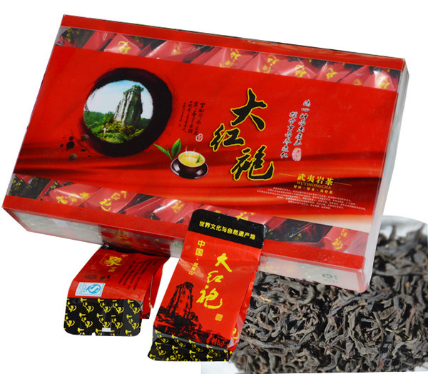 top popular [mcgretea]sale 2020 250g The big red robe of fine varieties of Chinese Da Hong Pao oolong tea health care original gift free shipping 2020