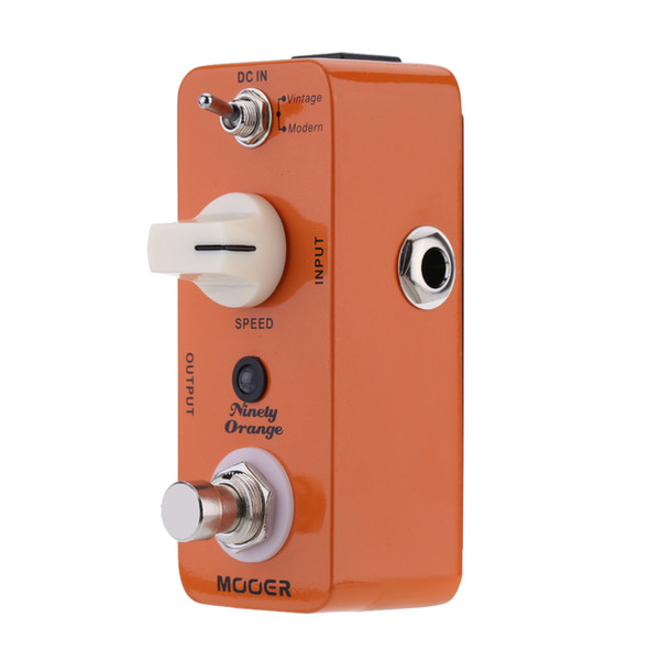 Mooer Ninety Orange Micro Mini Analog Phaser Electric Guitar Effect Pedal True Bypass Guitar Parts & Accessories