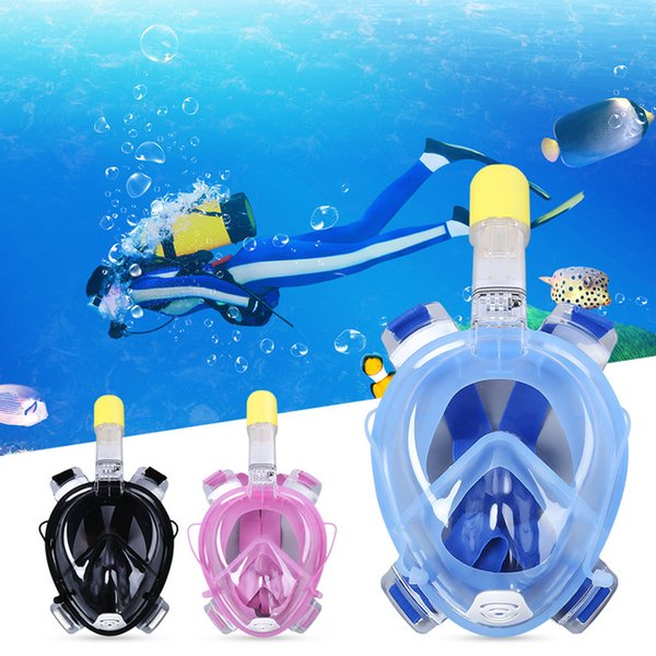 discount wide varieties cute Compre Marca Underwater Diving Mask Snorkel Set Natación Entrenamiento  Scuba Mergulho Cara Llena Máscara De Snorkel Anti Niebla A $14.07 Del Grid  | ...