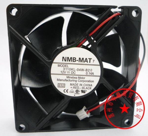 best selling NMB 8025 DC12V 3110KL-04W-B10 Cooling fan 3110KL-04W-B20 3110KL-04W-B30 3110KL-04W-B40 3110KL-04W-B50 3110KL-04W-B60 3110KL-04W-B70