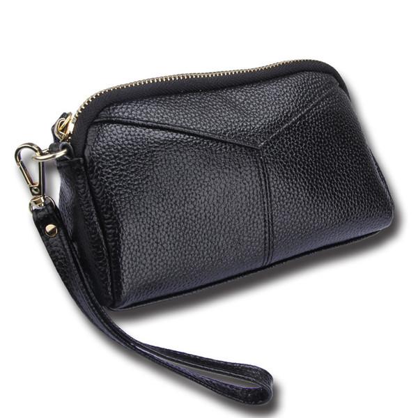 Lady Pu Leather Make Up Bags Cosmetic Case Zipper Travel Cosmetic Bag Organizer Makeup Casual Storage Purse Women Clutch Bag