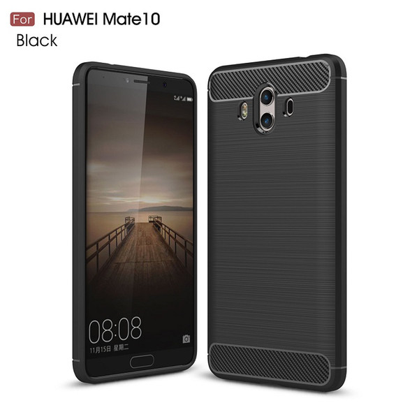 Cellphone Cases For Huawei Mate10 Carbon Fiber heavy duty shockproof armor case for huawei Mate10 2017 hot sale Free shipping