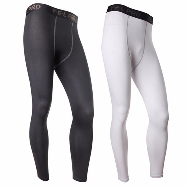 163908b458 Wholesale- Men Compression Athletic Pants Running Training Fitness Base  Layers Skin Sports Tights Gym Men Leggings V2 on sale