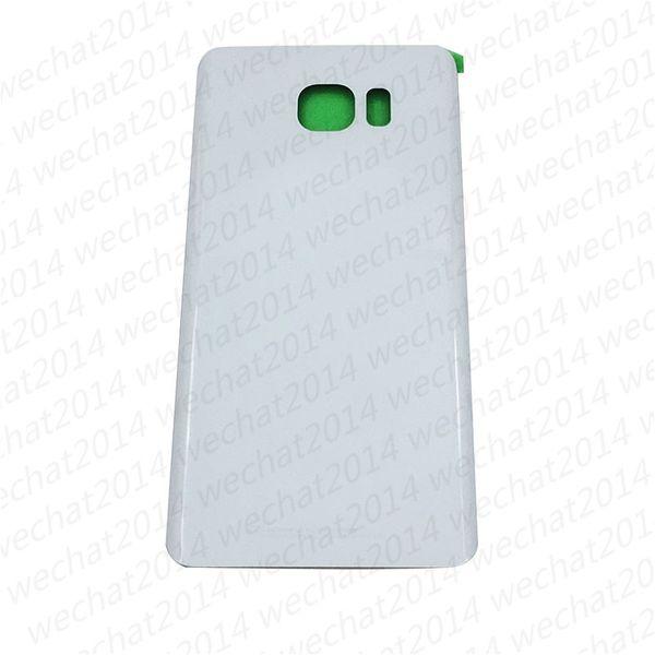 100PCS OEM coperchio della batteria coperchio della copertura posteriore della custodia per Samsung Galaxy S6 bordo G920P S6 Plus G925P G928P Nota 5 N920P con adesivo