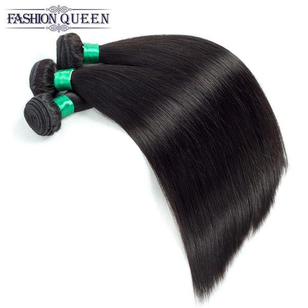 Brazilian Virgin Straight Hair Cheap Unprocessed Human Hair Bundles Factory Peruvian Indian Malaysian Hair Weaves Extension Double Weft