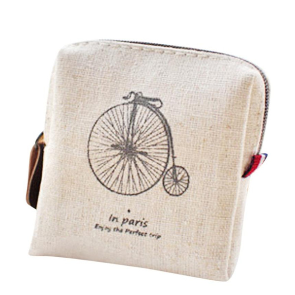 Wholesale- Best Gift Classic Retro Canvas Purse Wallet Card Key Coin Bag Pouch Case a19 Drop Shipping Wholesale
