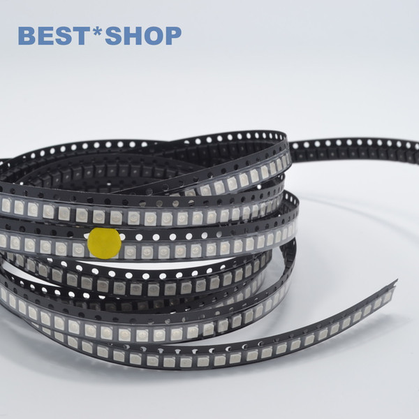 Wholesale- wholesale New 100pcs 3528 1210 Yellow smd smt plcc-2 high quality 1.8-2.2v ultra bright light-emitting diodes Lamp free Shipping