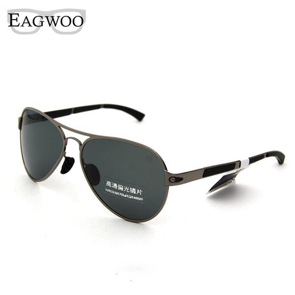 Al por mayor- Gafas de sol polarizadas Hombres que conducen al aire libre Gafas de sol cuadradas Cara grande Anti UV contra el deslumbramiento De Sol Masculino Gafas de sol 89166