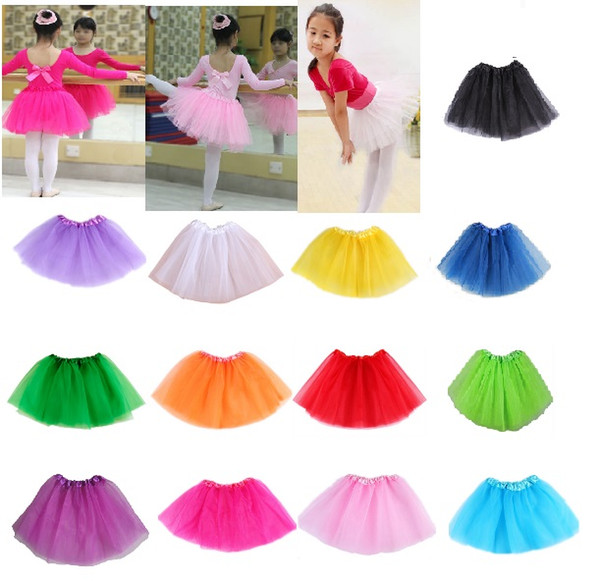 best selling 13 Colors Available Sweetheart Wear Baby Girls Tutu Skirts Chiffon Baby Ballerina Skirt Christmas Gift Candy Colors