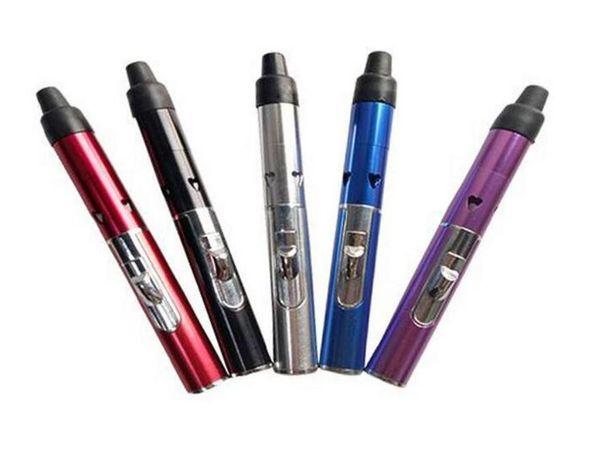 new Slim lady Butane Torch Click N Vape-Incense Burner- Torch Lighter Pen smoking pipe Mini Herbal Vaporizer