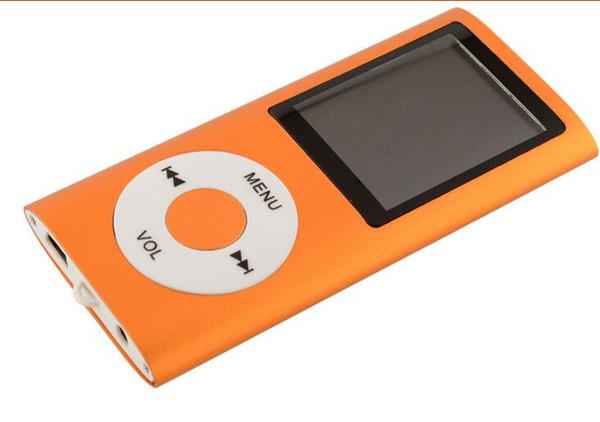 reproductor portátil de música MP4 reproductor de mp4 1.8 pulgadas lcd Soporte de pantalla Micro SD tarjeta grabadora de FM