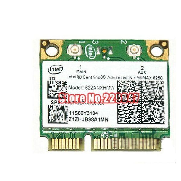Wholesale- Free Shipping Original for intel 6250anx fru : 60y3195 t420t410x201 wireless network mini pcie half card for IBM Lenovo Thinkpad