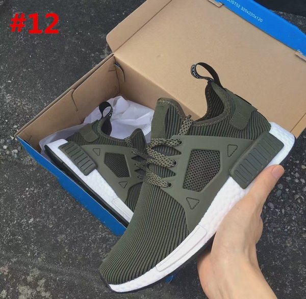 New arrival NMD XR 1 Duck CAMO BA 7232 REAL BOOST Bottom With Nipples NMD_XR 1 Camo NMD BA 7232 Men Running Shoes Box Receipt Keychain
