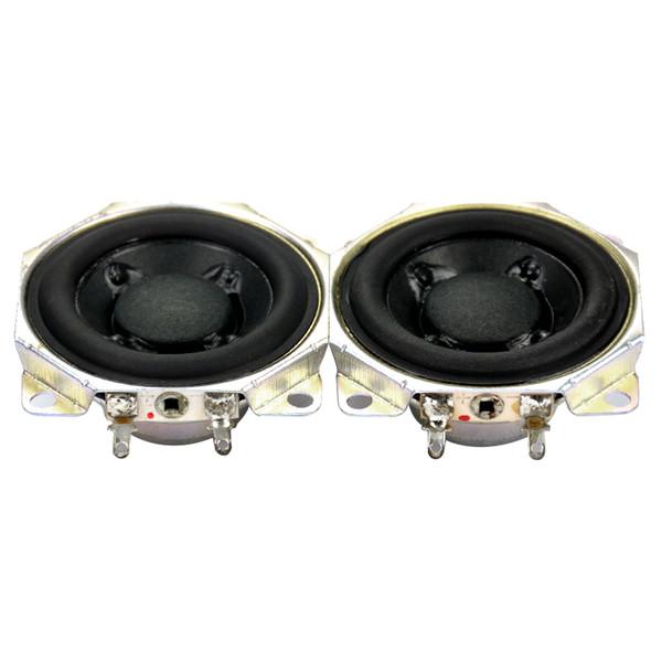 """Wholesale- 2pcs 2"""" inch 12Ohm 10W neodymium Full Range Audio Speaker Stereo Woofer Loudspeaker Horn"""