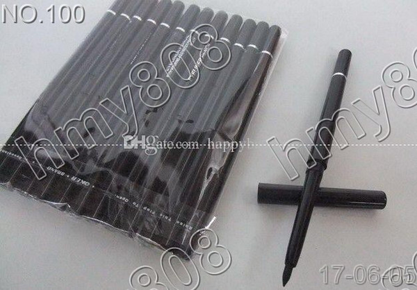 best selling New Makeup Eyes Rotary Retractable With Vitamine A&E Waterproof Eyeliner Pencil!Black Brown