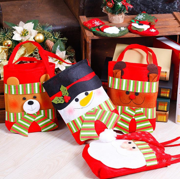 Beer Christmas Gifts.2017 New Arrival Christmas Gift Bag Kids Handbag Santa Snowman Beer Deer Gifts Handbags With 5 Desgins Crossbody Bags For Kids Designer Bags For Kids