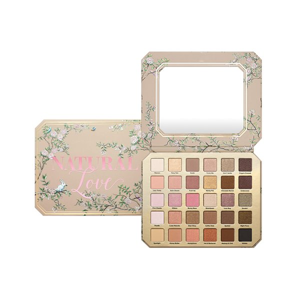 best selling 2019 The New Arrival Makeup Eye Shadow Natural Love Pallette 30 Colors Professional Eyeshadow Palette 2019
