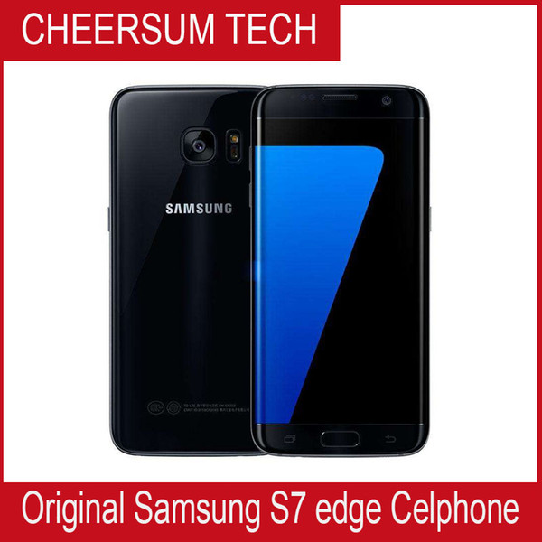 Refurbished Original Samsung Galaxy S7 Edge G935A G935V G935T G935P Unlocked Cell Phone 5.5 Octa Core 4GB/32GB 12MP 4G LTE Unlocked Refurbis
