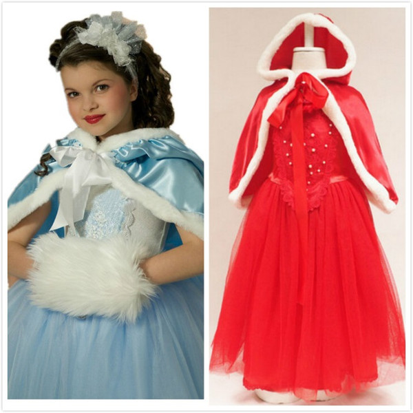 Frozen Christmas Special.2019 4 12t Girls Princess Frozen Tutu Dress With Cloak Xmas Cosplay Performance Costume For Children Kids Tutu Christmas Special Occasion Dress From
