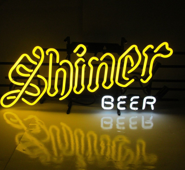 New HIGH LIFE Neon Beer Sign Bar Sign Real Glass Neon Light Beer Sign New Shiner Beer Texas Handmade Neon 24x20