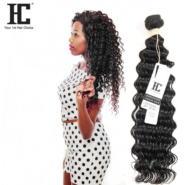 Hot Selling!!! Malaysian Deep Wave Human Hair Weaves 100% Unprocessed Human Hair Extensions 1 Bundles Malaysian Human Hair Weave Bundle