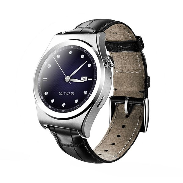 Smart watch X10 Full circle Bluetooth Android Heart rate monitor Real time temperature Intelligent step Altitude instrument