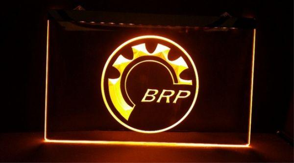 best selling Bombardier Recreational Products BRP beer bar pub club 3d signs led neon light sign home decor crafts