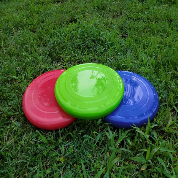 Outdoor Sports Flying Disc Toy can fly Frisbee For Throw and Catch Game of Catch for Kids Adults Clips 22cm