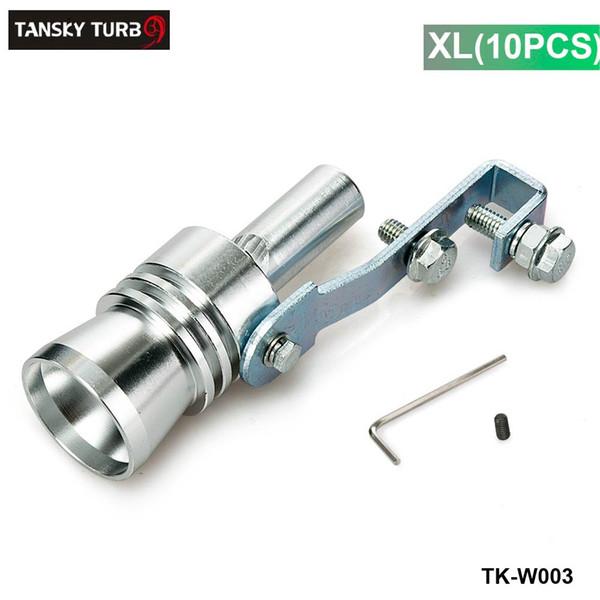 Tansky - Universal Turbo Sound Exhaust Muffler Pipe Whistle / Fake Blow-off BOV Simulator Whistler Size XL 10PCS/LOT TK-W003 (10 pcs)