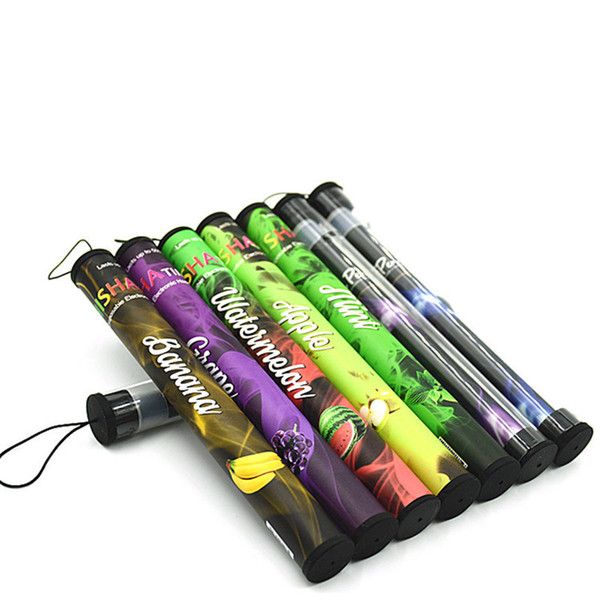 2016 Direct Selling New 280mah E Shisha Time Disposable Electronic Cigarette Enough 500 Puffs Various Fruit Flavors Colorful Ecig Hookah Pen