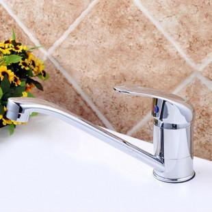 The single tank xiancai basins Rotate the kitchen faucet All copper cold hot kitchen faucets