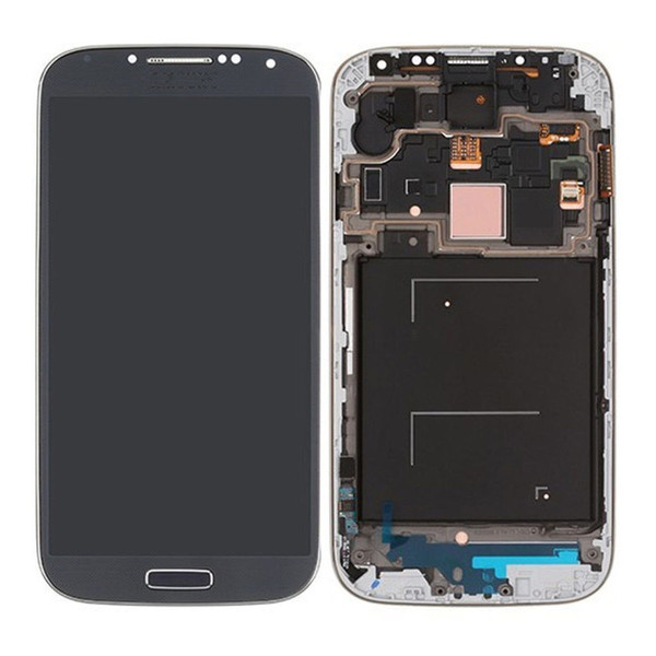 AAA Quality 2016 New LCD Lens Screen+Touch Digitizer Assembly For Samsung Galaxy S4 i337 i545 display Blue White Free Shipping