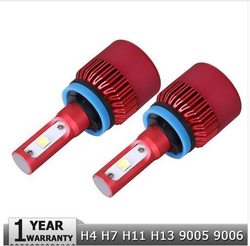 H4 H7 H11 H13 9005 9006 CREE Chips SMD 80W LED Car Headlight Bulb Hi-Lo Beam 9600lm 6500K Auto Headlamp Fog Light 12V 24V