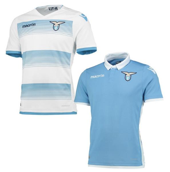 Camisas de futebol tailandês de qualidade Lazio Home away camisa jogo  uniforme 2016 2017 mens FC c257d065cfc0c