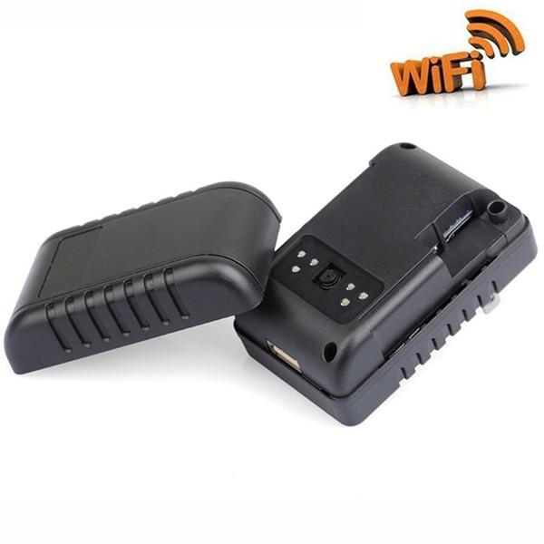 1080P Wifi Adapter Camera Motion Activated Adaptador de corriente CA Cámara USB Cargador de pared Cámara de visión nocturna Nanny Cam Cámaras de seguridad para el hogar