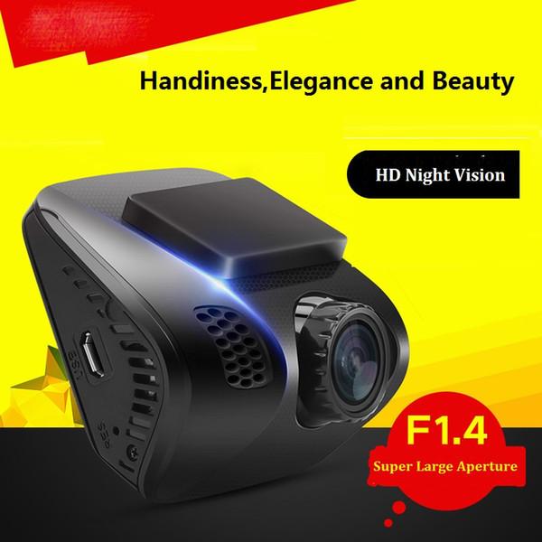 "New Sony hidden Mini 2.0"" car camcorder F1.4 HD1080P 170 degree car camera recorder Night vision Car Dvr Dash Cam Dashboard Camera"