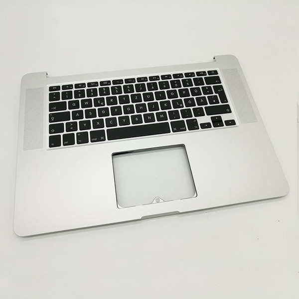 """New Germany Topcase with keyboard For MacBook Pro 15"""" Retina A1398 Palmrest Top case with DE German keyboard 2013 2014"""