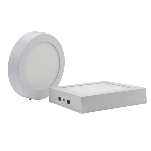 2017 new 9W 15W 25W 30W Round Led Panel Light Surface Mounted Led Downlight lighting Led ceiling + Drivers